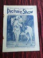 PICTURE SHOW - UK MOVIE MAGAZINE - 1 APRIL 1922- PAULINE FREDRICK