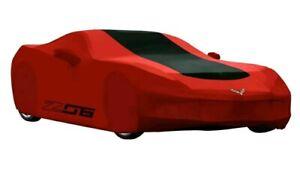 2015-2019 Chevrolet Corvette ZO6 Outdoor Car Cover 23187877 Redline w/ Logo OEM
