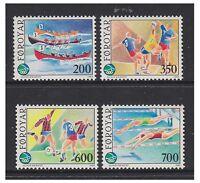 Faroe Islands - 1989 Sports set - MNH - SG 181/4
