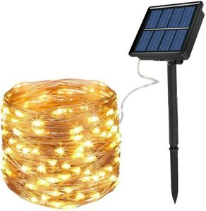 72ft 200LED Outdoor String Lights, Waterproof Decorative String Lights for Outdo