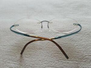 Brillengestell mit Gläsern Silhouette, Damen, superleicht