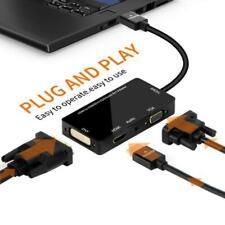 HDMI Splitter to HDMI DVI VGA Audio Converter Gold-plated Jack 4K for Laptop r