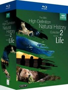 The BBC High Definition Natural History Collection 2 Featuring Life Blu-ray