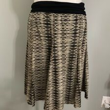 Love 21Size Large Brown And Black Skirt
