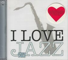 Chet Baker Thelonious Monk Ella Fitzgerald I Love Jazz CD New Sealed