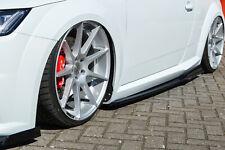 Seitenschweller Schweller Sideskirts mit Wing ABS für Audi TT TTS 8S S-Line