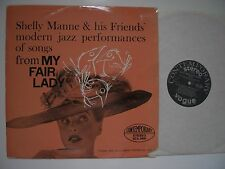 SHELLY MANNE ANDRE PREVIN  SONGS MY FAIR LADY SONGS CONTEMPORARY SCA 5009 VINYL