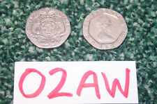 1982 UK 20p Coin Twenty Pence Regina Elisabetta II OTTIME CONDIZIONI-GRATIS UK P & P!