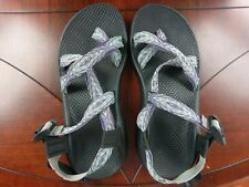 Chaco Z/2 Yampa Sandals Womens 9 Pixel Weave Purple Aqua Blue Turquoise J103426