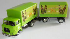 Grell oh 1/87 truck trailer truck trailer ifa w50 l brewery cunnersdorfer beer