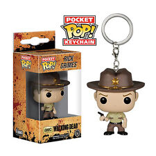 The Walking Dead Keyring - Rick Grimes Pop! Vinyl