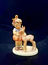 Goebel Hummel Friends -Girl w/ Deer/Fawn Tkm5 5.5� *No Box*