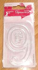 9th Papermania Typography Oversized Clear Stamp (ASCC0517)