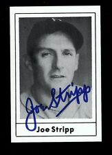 Autographed Signed Joe Stripp 1978 Grand Slam #189 Dodgers w/COA - DIED 1989