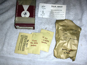 AMC RAMBLER VALVE SEAL KIT 1966-1975 6 CYL GREMLIN HORNET JAVELIN REBEL PACER