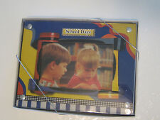 SCHOOL DAYS PICTURE FRAME - NEW - 3x5 PICTURE SIZE - 8.5 TALL x 6.5 WIDE FRAME