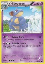 NIDOQUEEN 42/116 - BW PLASMA FREEZE POKEMON REVERSE HOLO RARE CARD