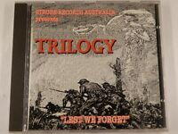 TRILOGY - Lest We Forget - 1996 OZ 4 track CD