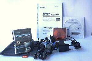 Sony Hi-MD MZ NH1 Minidisc Hi-MD Player Recorder