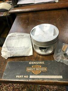HARLEY DAVIDSON 1  PISTON & RING  EVO XL 883 +30 OVER GENUINE PART # 22255-86