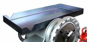 Toledo Pipe 1452 Tric Tray Hold Tool on RIDGID® 300 Pipe Threading Machine 22638