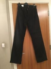 Completamente Nuevo Hombre Negro Jeans De George-W36 L33