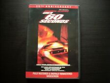 Gone in 60 Seconds 1974 With Insert (DVD, 2000, 25th Anniversary) H.B.HALICKI
