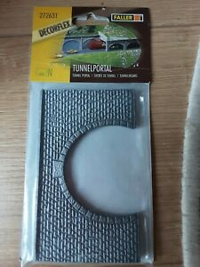 Faller 272631 double tunnel portal – new and unopened, n gauge