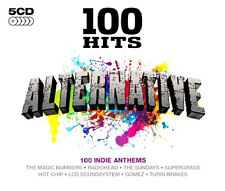 100 HITS ~ ALTERNATIVE NEW SEALED  CD BOX SET FROM 70's PUNK TO  2000's ELECTRO