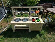 Mud Kitchen With Oven FREE UK SHIPPING