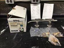 Kohler K-14416-4-BN PURIST Bathroom Sink Faucet Brushed Nickel NOS