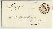 NOVEMBRE 1848 REPUBBL.VENEZIA coperta OSPEDALE MILIT.SANTA CHIARA+ARALDICO-h267