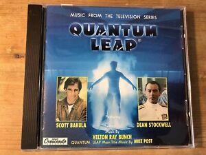 QUANTUM LEAP (Velton Ray Bunch) OOP 1994 GNP Crescendo TV Score Soundtrack CD NM