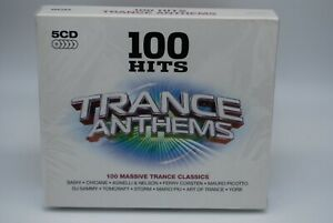 COFFRET 5 CD 100 HITS TRANCE ANTHEMS neuf sous blister