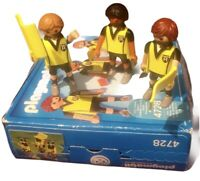 Playmobil 4728 Sport Action Football Referee Linesmen Set - Boxed, Complete
