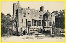 cpa CASTLE of FRANCE Normandie 14 - CHÂTEAU de CREULLY (Calvados) Schloss