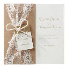Einladungskarten Hochzeit Einladung Umschlag Hochzeitseinladung 15.4 cm 726075