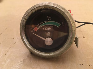 1960s Saab 96 gas gauge