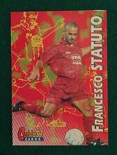CALCIO 97 1997 CARDS n.79 ROMA FRANCESCO STATUTO , Figurina Card Panini NEW