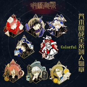 Jujutsu Kaisen Gojo Satoru Suguru Ryomen Sukuna Metal Brooch Badge Pin Gift N