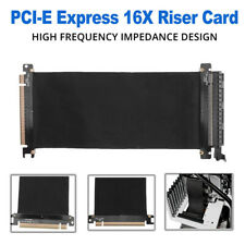 PCI Express High Speed 16x Flexible Cable Card Extension Port Adapter Riser Card