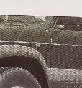 VAUXHALL MONTEREY/ISUZU TROOPER B/N GENUINE SIDE WING REPEATER INDICATOR A PAIR