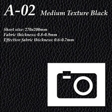 Camera Leatherette Impressia Leather A-02 Med. Texture Black Kamerabelederung