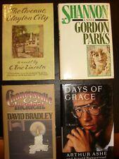 Lot of 4 Black Americana Books.Gordan Parks, Arthur Ashe