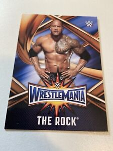 2017 Topps WWE Road to Wrestlemania 33 Roster #WMR-4 The Rock