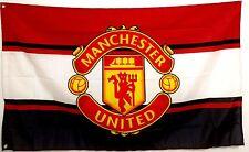 Manchester United Flag Banner 3 x 5 ft Red Devils England Football Soccer