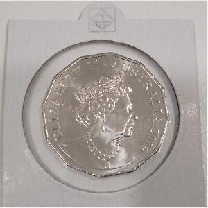Australia 2019 Jody Clark Effigy 50c Fifty Cents UNC Coin Ex Mint Bag Scarce
