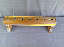 Benedictine Sisters of Mt Angel Monastery 7 Candle Holder Bench (1 of 2)