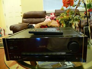 PIONEER ELITE C-72 PREAMPLIFIER CONTROLLER WITH REMOTE-VERY GOOD CONDITIONS