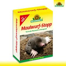 Neudorff 200g Mole-Stop (100 Drops ) Vergrämer Jardin Beet Champ Taupes